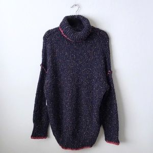 Free People Echo Turtleneck Pullover Sweater